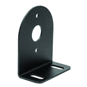 Black Mounting Bracket For 1 Inch Round Surface/Recess Mount Strobe Lights