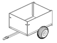 4'x3' Off-Road Utility Cart Plans (104)