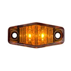 Amber Mini-Sealed LED Marker/Clearance Light