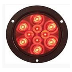 "4"" Round Sealed LED Stop/Turn/Tail Flange Mount Light"