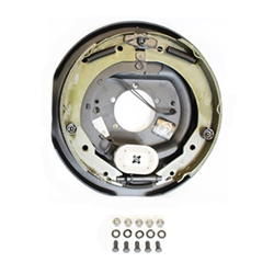 "12"" Electric Brake Left Hand Assembly"