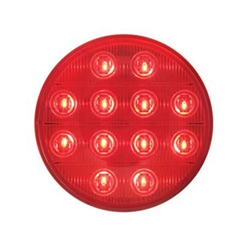 "HyperX 4"" Round Sealed LED Stop/Turn/Tail Light"