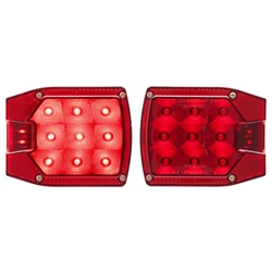 "LED Combination Passenger side & Driver Side Tail Lights for Over/Under 80"" Applications"