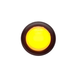 "Amber GloLight™ Uni-Lite™ 3/4""LED Non-Directional Marker/Clearance Light"