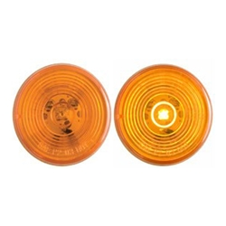 "FLEET Count™ 2"" Round Sealed Amber LED Marker/Clearance Light"