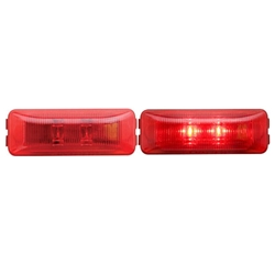 FLEET Count™ Thinline Sealed Red LED Marker/Clearance Light