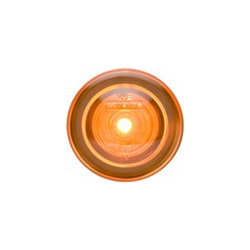 "3/4"" Sealed Amber LED Marker/Clearance Light with Theft-Deterrent Design"
