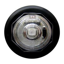 "Clear Lens Uni-Lite™ 3/4"" Amber LED Non-Directional Marker/Clearance Light"