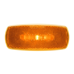 Amber LED Marker/Clearance Lights With  Reflex