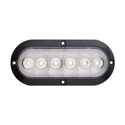 "FLEET Count™ 6"" Oval Sealed LED Utility Light for Surface Mount"