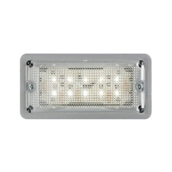 LED Low Profile Dome Light Recess Mount