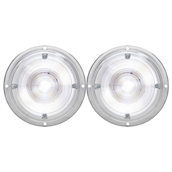 "6"" 2-LED INTERIOR DOME LIGHT Pair"