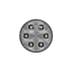 "FLEET Count™ 4"" Round Sealed DOT LED Back-Up Light"