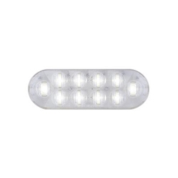 "6"" Oval Sealed DOT LED Back-Up Light"