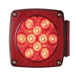 "Universal Under 80"" Combination LED Passenger Side Tail Light"