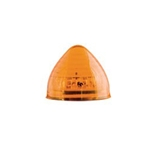 "Amber 2"" Beehive Sealed LED Marker/Clearance Light"