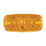 Amber Bullseye LED Marker/Clearance Light