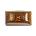 Amber Sealed Mini Rectangular LED Marker/Clearance Light