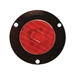 "Red 2"" Round Flange Mount LED Marker/Clearance Light"