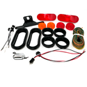 One Diode LED Kit Oval for Single Axle Trailer