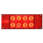 FLEET Count™ LED Low Profile Driver side, with 6-LED license light