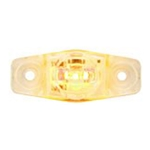 Clear Lens Yellow Mini Sealed LED Horizontal-Vertical  Marker/Clearance Light