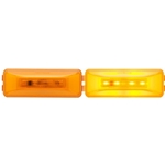 Amber GloLight ®  Thinline Sealed LED Marker/Clearance Light