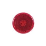 "2.5"" Round Sealed Red LED Marker/Clearance Lights with Reflex"