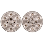 "4"" Round Sealed LED Utility Light 10 Diodes Pair"