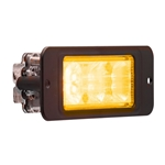 Recess Mount LED Directional Warning Light Amber