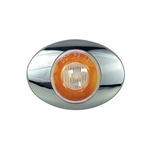 "Clear Lens GloLight Millennium Series 3"" Sealed LED Marker/Clearance Light Yellow"