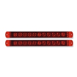 "Sealed LED Identification Light Bars  for Over 80"" Applications Pair"