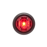"Red 3/4"" P2 rated marker/clearance light .180 Male bullets"