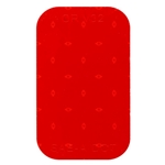 "Red 3.5"" x 2"" self-adhesive reflector"