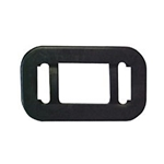 Black grommet, flush mount For A91, AL90,AL191, & AL91 Lights