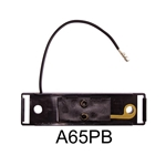 Kit: A65B black bracket & A65P single wire plug